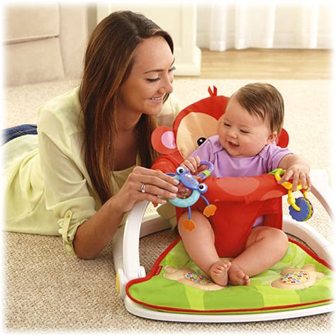 Baby Sit Up Chair by Deluxe Sit Me Up Floor Seat Monkey