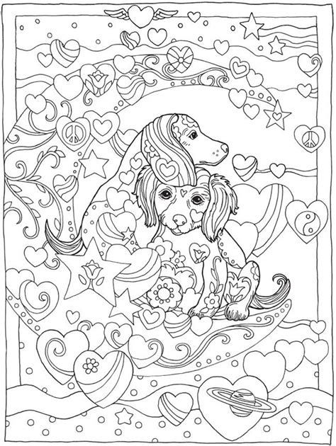 coloring books for adults dogs 17 best ideas about dover coloring pages on