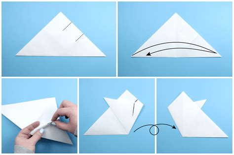 How To Make A Snowflake Origami - how to make an origami snowflake images craft decoration
