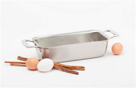 made in the usa forever stainless steel loaf pan made in usa by 360 cookware