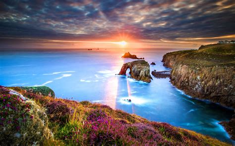 To 4k by Wallpaper Lands End Cornwall Hd 4k
