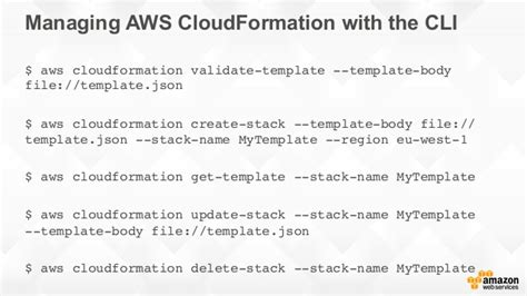 An Introduction To Aws Cloudformation Pop Up Loft Tel Aviv Aws Cloudformation Validate Template