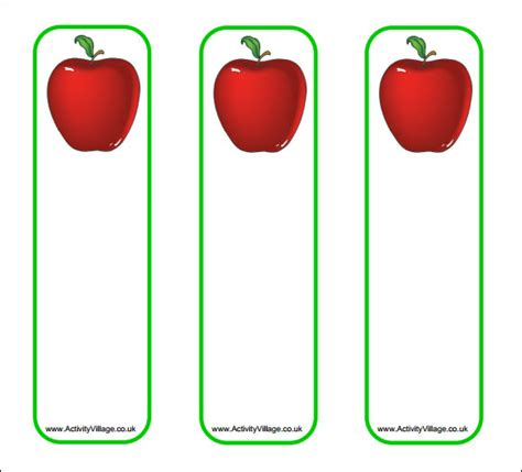 free templates for children s bookmarks bookmark template 13 download in pdf psd word