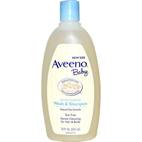 For Wash aveeno baby wash shoo lightly scented 18 fl oz 532 ml iherb