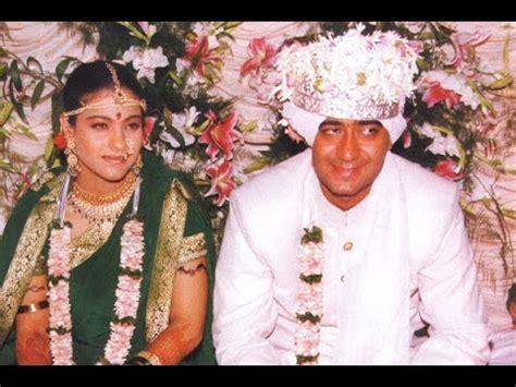 ajay devgan kajol marriage video (must watch it) youtube