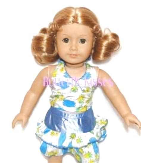 Doll Set swimsuit bathing 5 pc set doll clothes made for 18 inch