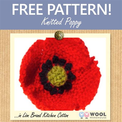 knitting pattern poppy free this week s free pattern shows you how to make your own