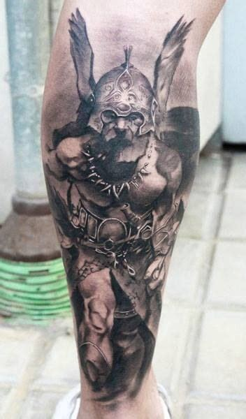 Tattoo Pictures Of Viking Warriors | awesome tattoo viking warrior nordic tattoo pinterest