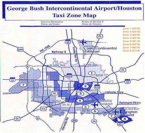 iah map map houston iah airport