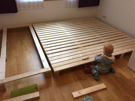 ikea bett 2x2m bauanleitung f 252 r ein familienbett mamaskind