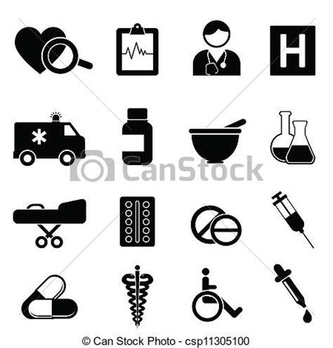 clip art de vectores de conjunto salud icono vector vector clip art de m 233 dico salud iconos salud y