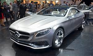 mercedes s class coupe concept revealed as the new cl