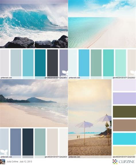themes colour palette color palettes beach living pinterest
