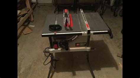 porter cable portable table saw review porter cable table saw review brokeasshome com