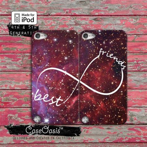 Ipod Touch 4th Infinity best friends infinity symbol pair space galaxy custom ipod touch 4th generation or ipod