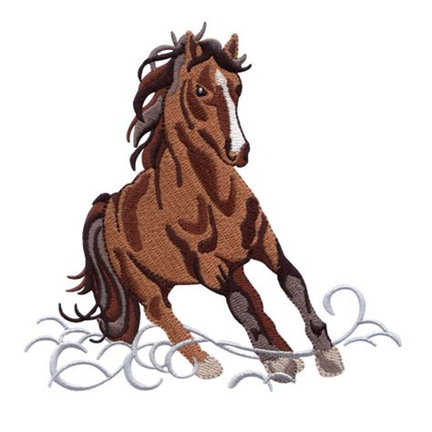 embroidery design horse wild horses embroidery designs by amazing designs bred to