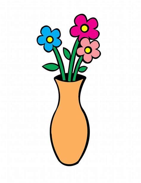 disegni di vasi sta disegno di vaso con fiori a colori