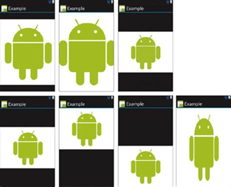 android scaletype displaying images android ui fundamentals working with basic and advanced views peachpit
