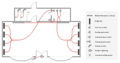 floor plan with electrical layout lighting and switch layout classroom lighting