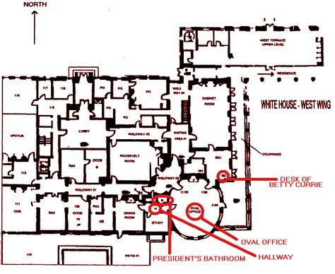 white house layout residence map west wing white house house plans 65261