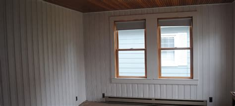 mobile home interior paneling 2018 paint wood paneling with this 1 trick no peeling paint no wood bleed