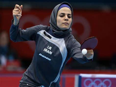 Pelatih Tenis Meja pemain tenis meja iran menyabet tiga tempat di olimpiade
