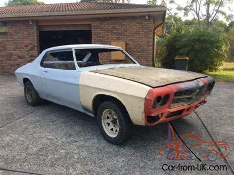 holden hq monaro coupe 2 door rolling shell project