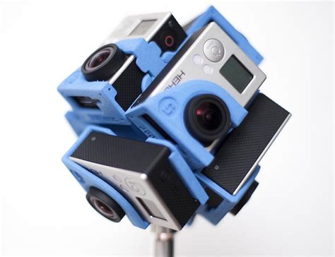 New X Pro6 pro6 the 360 degree gopro holder by 360heroes 187 gadget flow