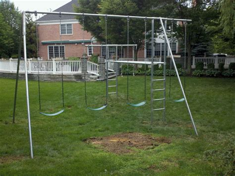swing set fail sets gif find share on giphy