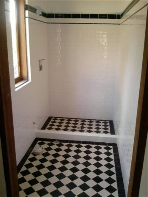 black and white checkered bathroom floor edwardian tiles 100x100 black and white checkerboard