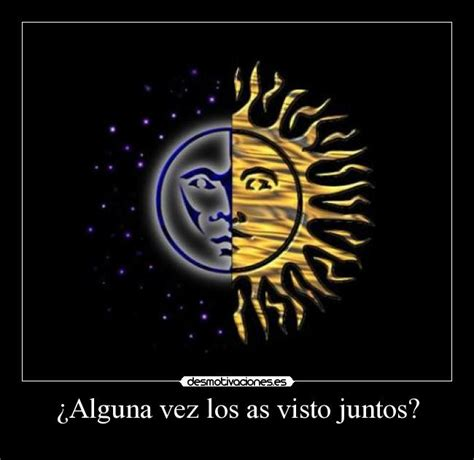 imagenes de sol y luna animadas 191 alguna vez los as visto juntos desmotivaciones