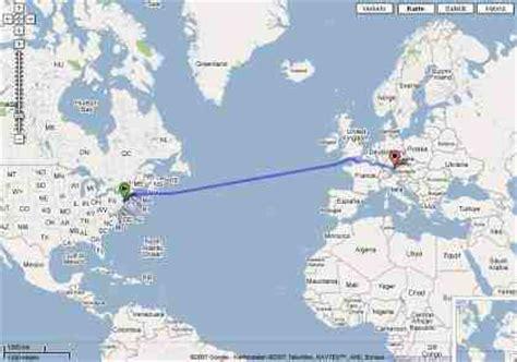 google maps routenplaner lässt anwender schwimmen