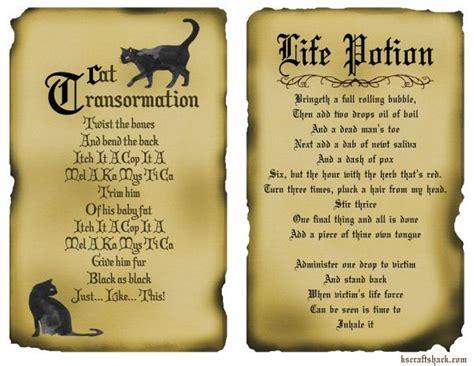 printable potion recipes disney inspired hocus pocus spells free printable spell