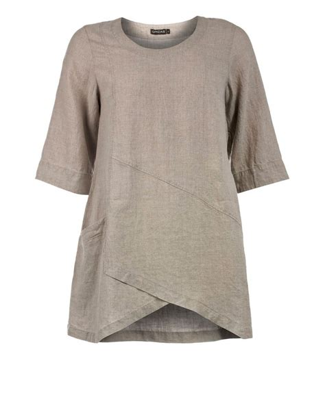 Olla Blouse a line linen tunic by grizas tunics oh wouldn t this be