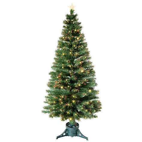 6ft 180cm beautiful green fibre optic christmas tree with