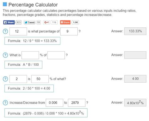 calculator percentage percentage calculator formula driverlayer search engine