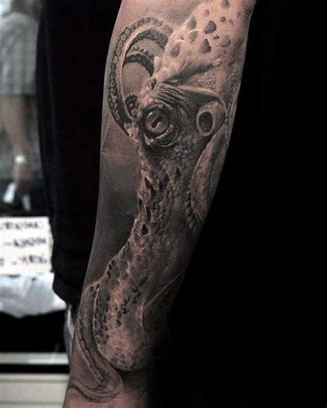 50 octopus sleeve tattoo designs for men manly ink ideas