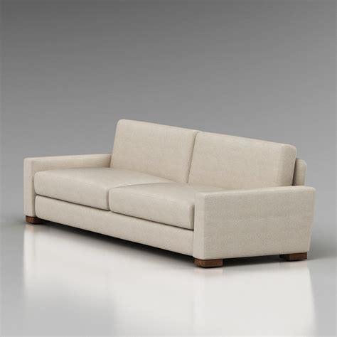 Sofas Restoration Hardware by 3d Restoration Hardware Maxwell Sofa High Quality 3d Models