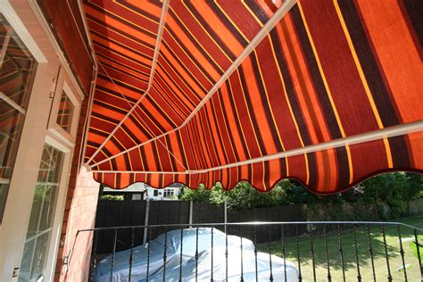 Orange Awning by Canopies Kover It