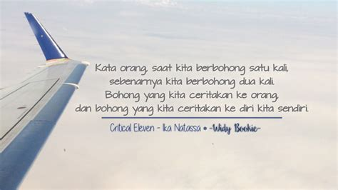Critical Eleven Ika Natassa S widy bookie a by wenny widy review critical