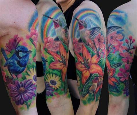 fiori braccio tatuaggio braccio fiore colibr 236 di