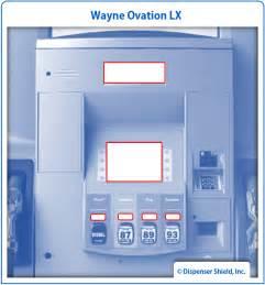 wayne ovation lx dispenser shield 174 kit dispenser