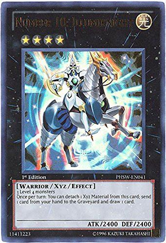 Kartu Yugioh Number 11 Big Eye Ultra yugioh zexal photon shockwave single card number 10 illumiknight phsw en041 ultra epic