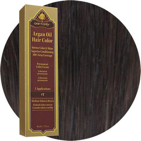 argan hair color how to leave on 4t medium tobacco brown argan permanent hair