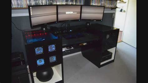 computer built into desk deskcom computer built into desk youtube
