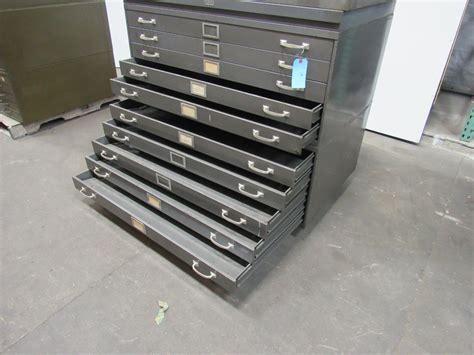 blueprint flat file cabinet used republic 10 drawer architect blueprint art flat files file