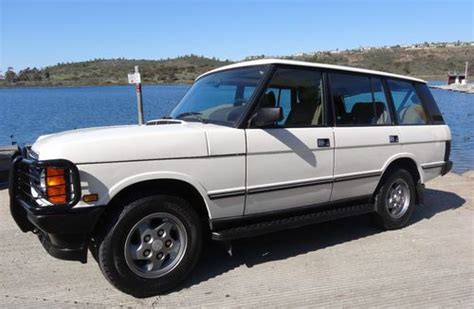 how to work on cars 1994 land rover defender 90 electronic throttle control find used 1994 range rover county lwb in san diego california united states