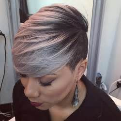 african american gray hairstyles for women