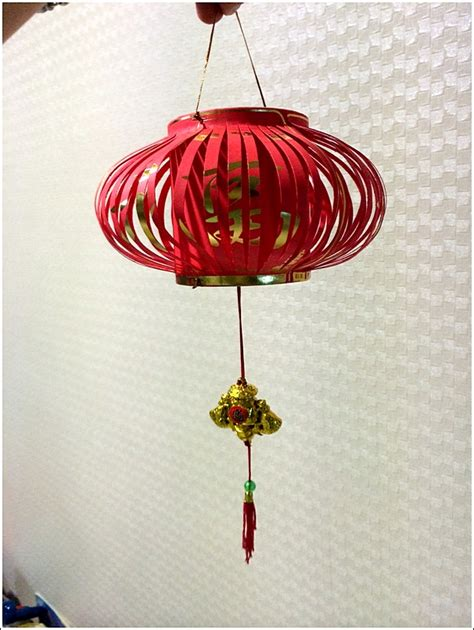 how to make new year decorations with recycled materials new year angpow lantern 171 home is where my is