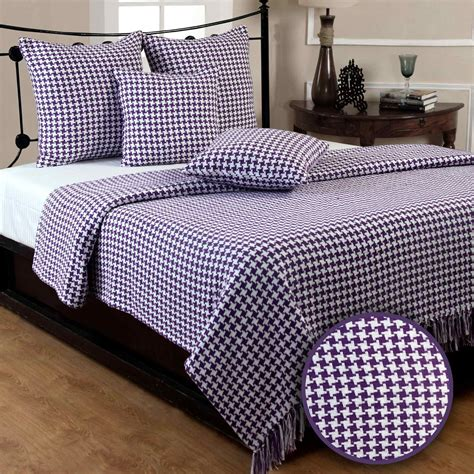 extra large settee throws houndstooth cotton check extra large sofa bed throws